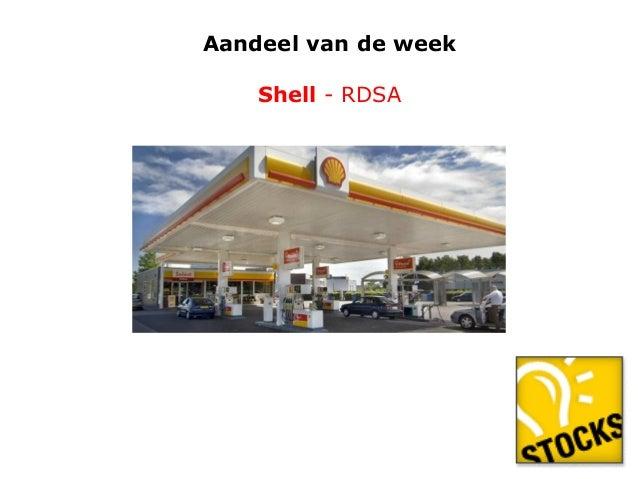 Aandeel van de week  Shell - RDSA