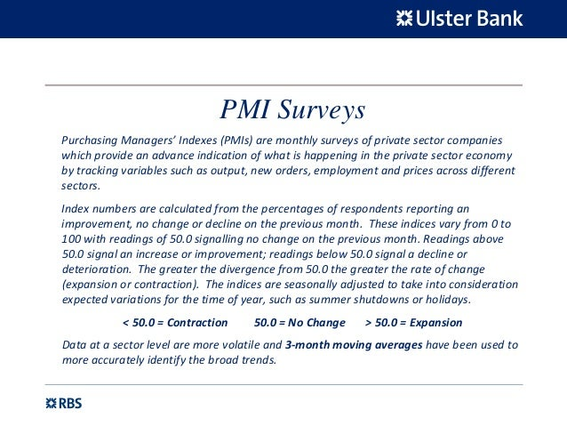 Ulster Bank Northern Ireland Purchasing Managers Index ...