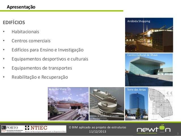 Sessão Introdução ao BIM: Eng. José Carlos Lino Slide 3