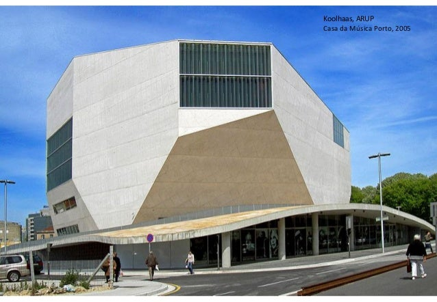 Koolhaas, ARUP Casa da Música Porto, 2005  13