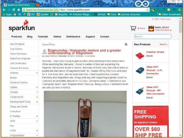 NSTA 2013 Denver - ArduBlock and Arduino