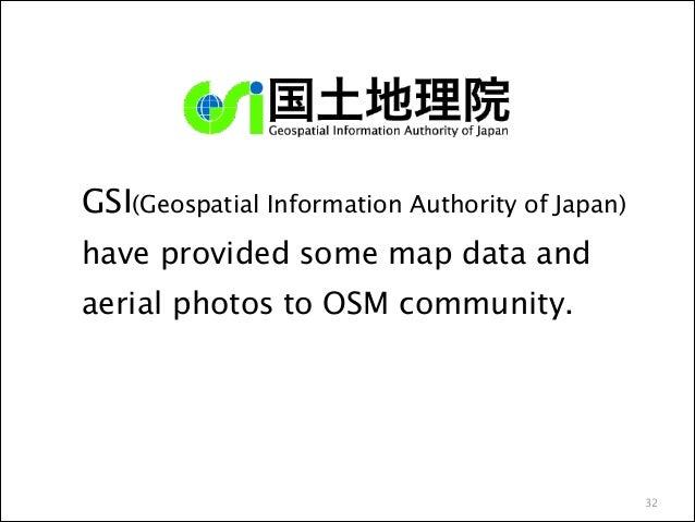 3 surveying companies had provided to new Aerial photos to OSM !  ・Asia Air Survey ・PASCO ・Kokusai-Kogyo  36