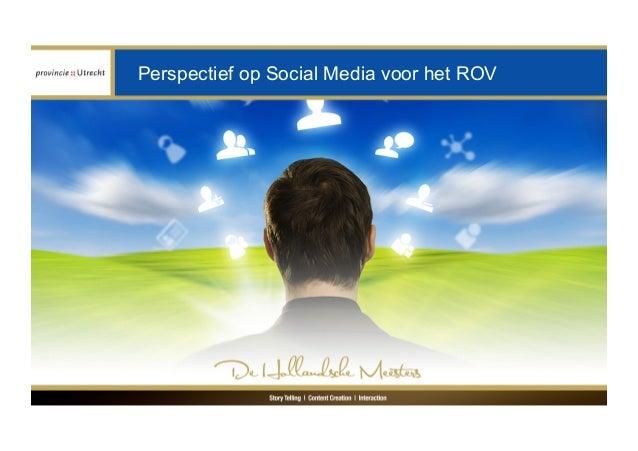 Perspectief op Social Media voor het ROV