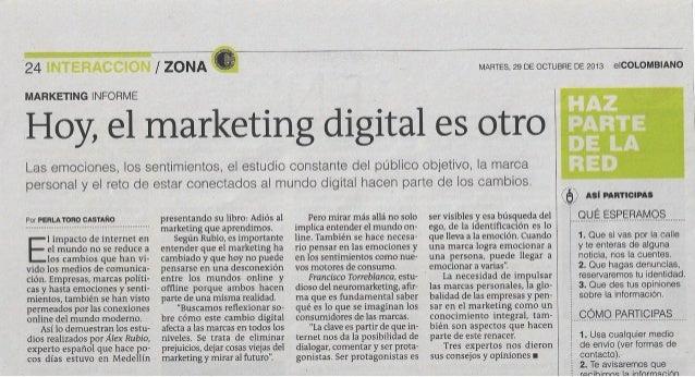 Hoy, el marketing digital es otro
