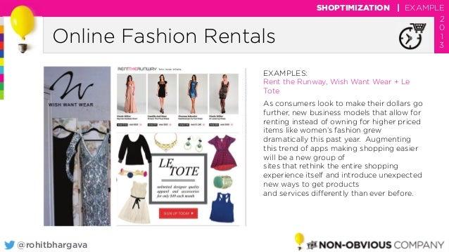 dfa8392df0  rohitbhargava Online Fashion Rentals SHOPTIMIZATION