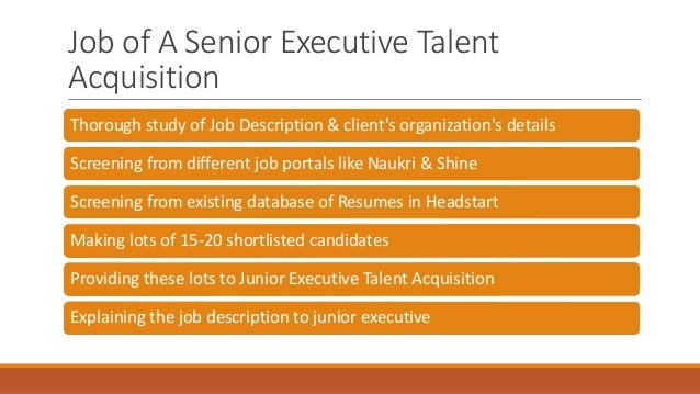 talent acquisition candidates interview replacement policy 17 - Talent Acquisition Consultant