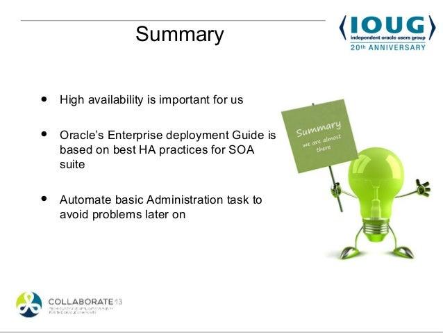 oracle soa suite for high availability enterprises rh slideshare net Web Design Best Practice Guide Best Practices Checklist