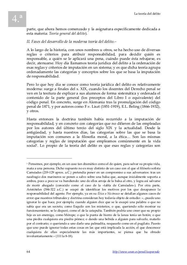 2013 4 iuspoenale breve teoría del delito Slide 2