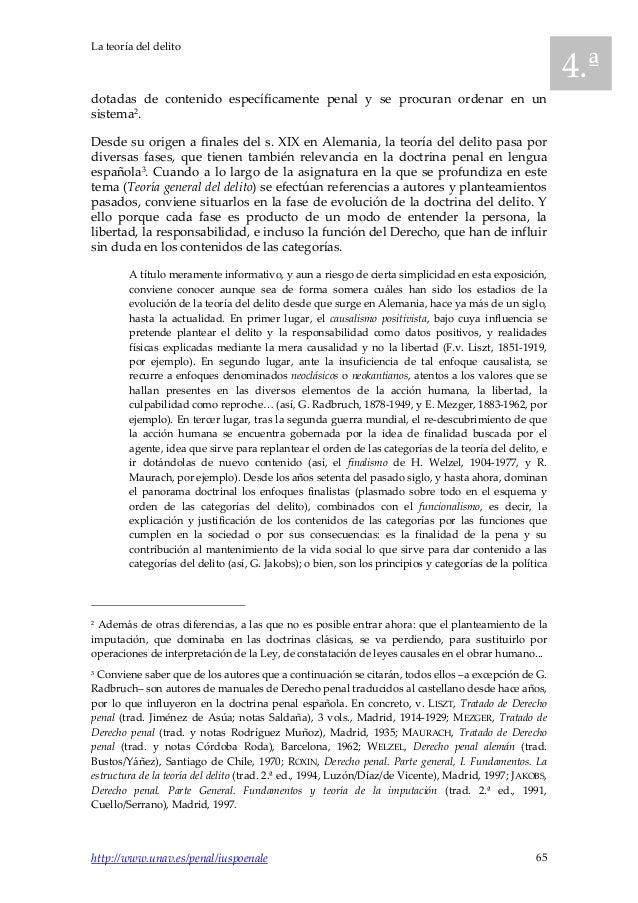 2013 4 iuspoenale breve teoría del delito Slide 3