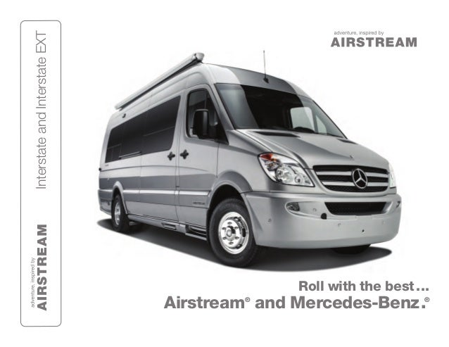 2013 airstream interstate class b motorhome for Mercedes benz sprinter airstream