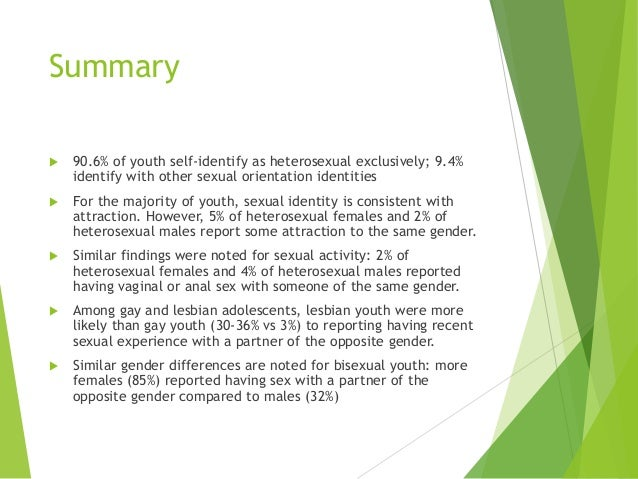 adolescent sexual behavior Adolescent sexuality: behavior and meaning 373  of adolescent sexual behavior, particularly intercourse about two-thirds of us teens.