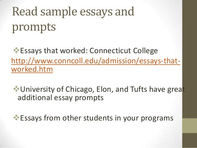 an essay on something that changed your life Tips for a stellar college application essay 1 write about something that's important to you it could be an experience, a person, a book—anything that has had an impact on your life.