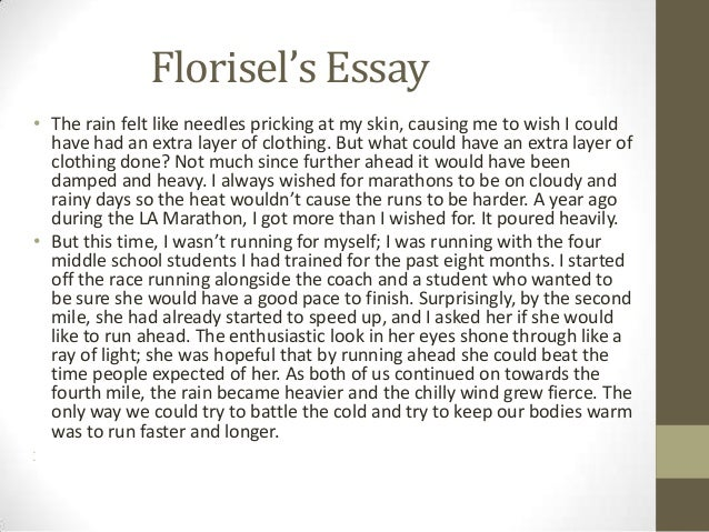 Great college essay