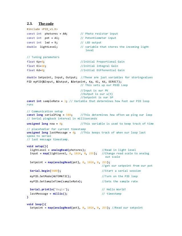 2013 arduino pid lab 0