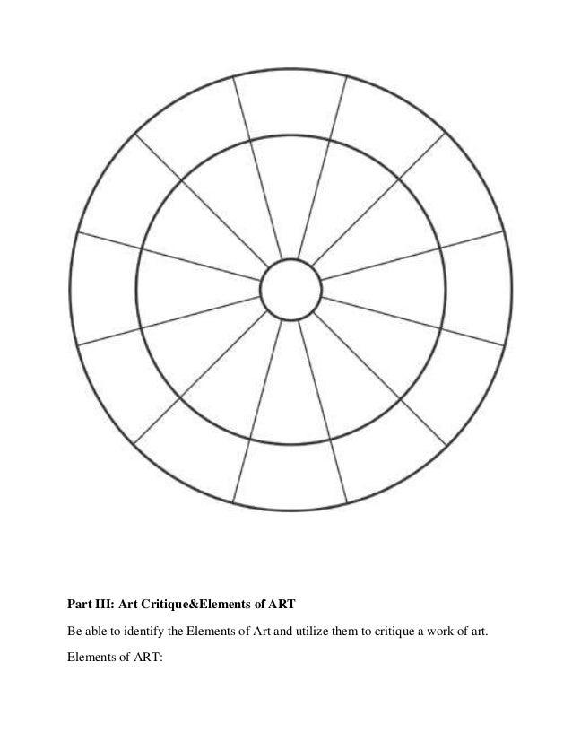 Elements Of ART 6 1