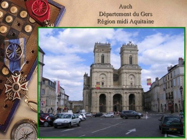 AuchAuch Département du GersDépartement du Gers Région midi AquitaineRégion midi Aquitaine