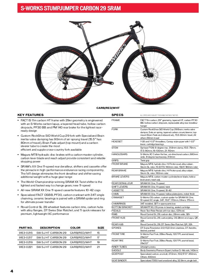 2013 Specialized bikes catalogue