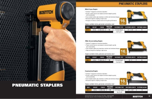 2013 Stanley-Bostitch Fastening Catalog
