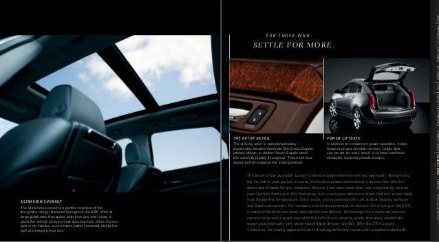 2013 Cadillac Srx Brochure Ky Louisville Cadillac Dealer