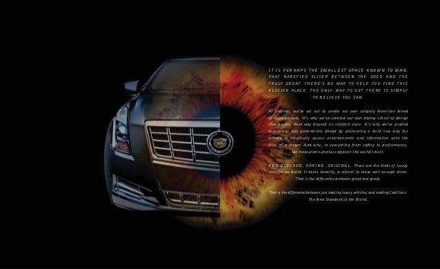 2013 Cadillac XTS Brochure KY | Louisville Cadillac Dealer