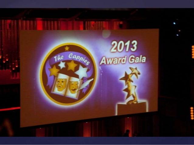 2013 Cappies Gala