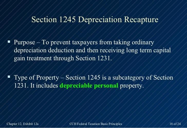 Depreciable Personal Property