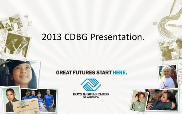 2013 CDBG Presentation.