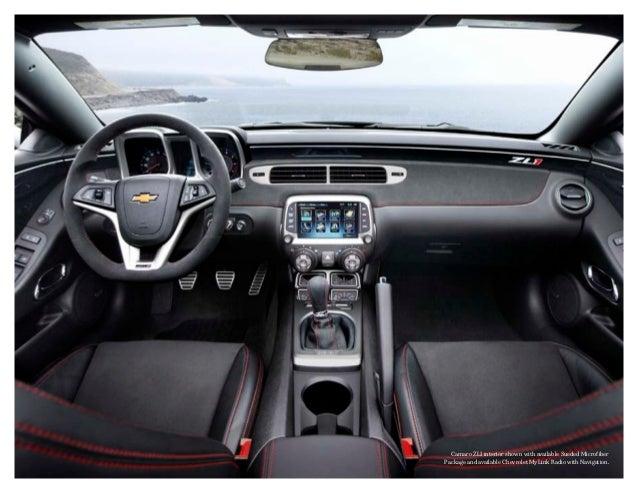 Chevy Camaro 2013 Interior