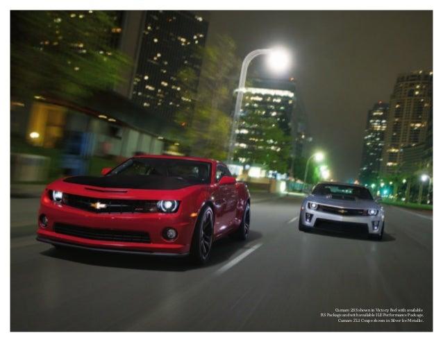2013 Chevrolet Camaro Brochure | South Jersey Chevrolet Dealer