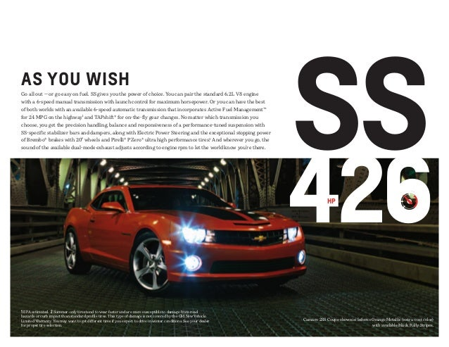 2013 chevrolet camaro brochure south jersey chevrolet dealer. Black Bedroom Furniture Sets. Home Design Ideas