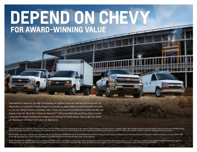 2013 chevrolet commercial brochure south jersey chevrolet dealer. Black Bedroom Furniture Sets. Home Design Ideas