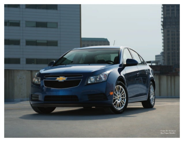 2013 Chevrolet Cruze Brochure | South Jersey Chevrolet Dealer