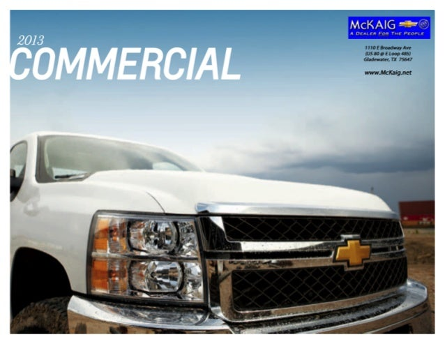 West Herr Chevy Hamburg >> 2013 Chevrolet Express/Commercial Brochure