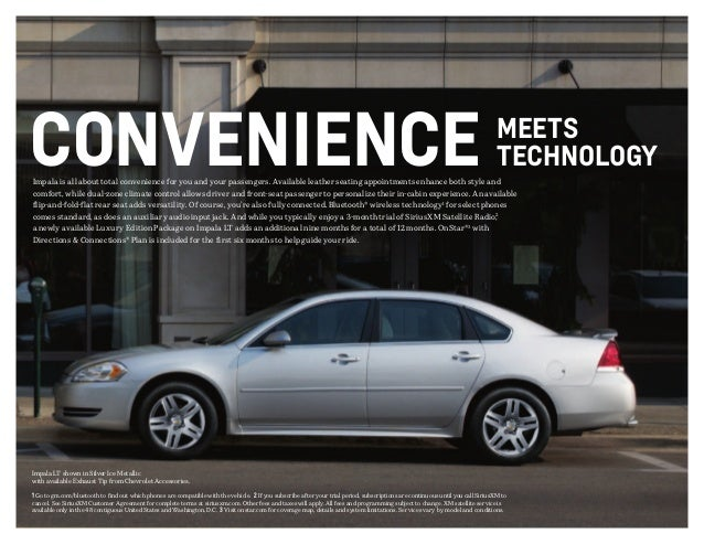 2013 chevrolet impala brochure south jersey chevrolet dealer. Black Bedroom Furniture Sets. Home Design Ideas