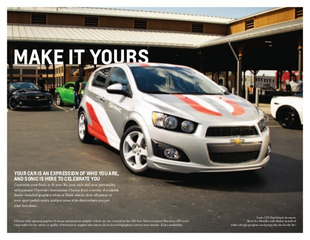 2013 chevrolet sonic brochure south jersey chevrolet dealer. Black Bedroom Furniture Sets. Home Design Ideas