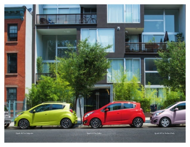 2013 chevrolet spark brochure south jersey chevrolet dealer. Black Bedroom Furniture Sets. Home Design Ideas