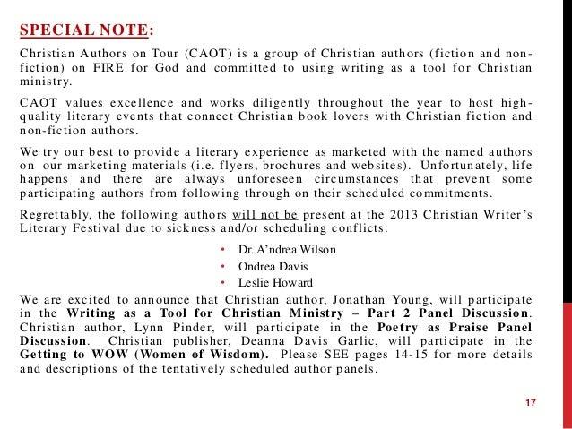 christian writer sites