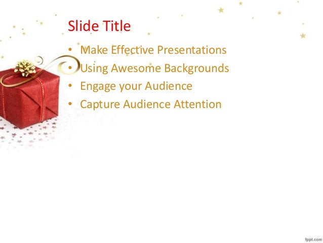 2013 christmas gift powerpoint background and template for christmas 2013 christmas gift powerpoint background and template for christmas gifts presentations negle Image collections