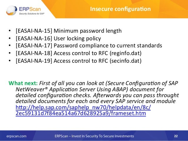 EAS-SEC: Framework for securing business applications