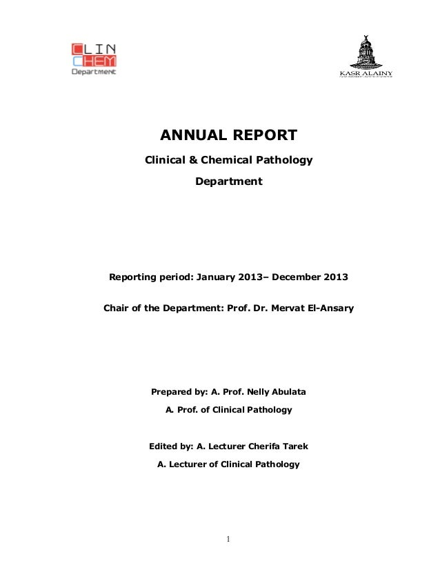 2013 ClinChem Annual Report