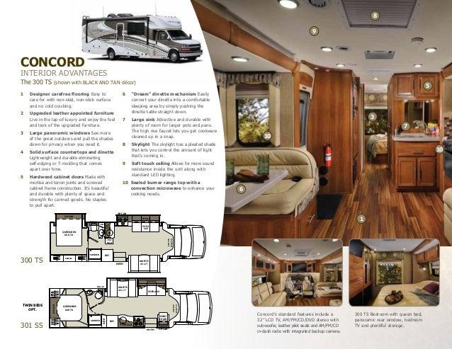 2013 Coachmen Concord Class C Motorhome