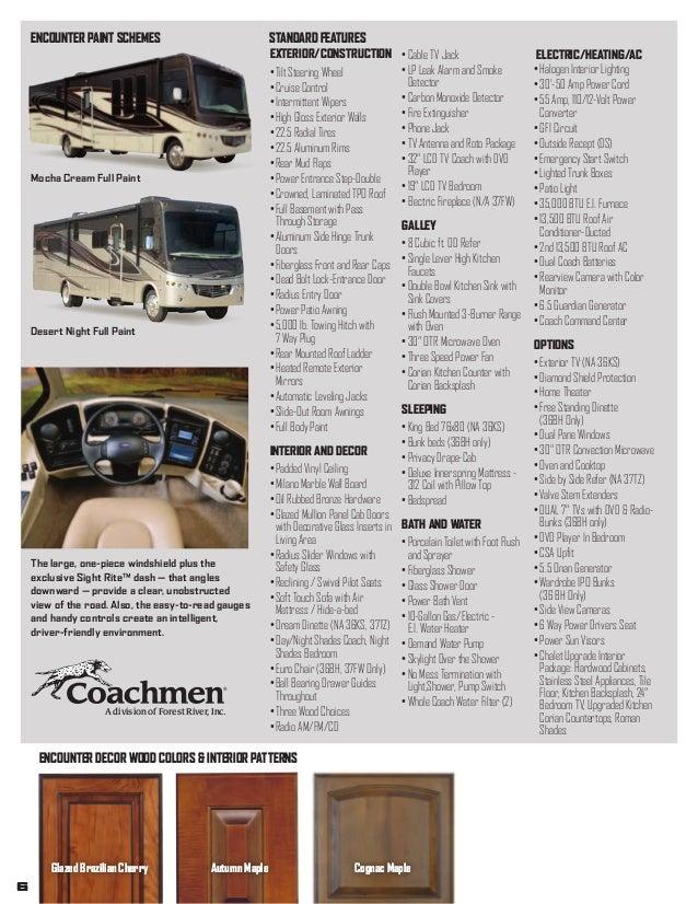 2013 Coachmen Encounter Class A Motorhome