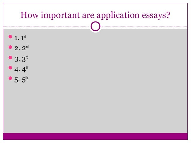why this college essay tips