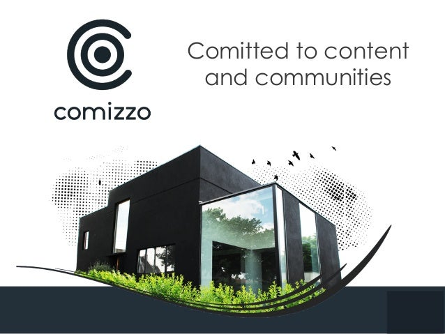 Comitted to content and communities