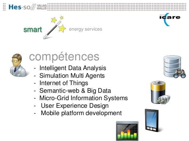 smart           energy services compétences  -   Intelligent Data Analysis  -   Simulation Multi Agents  -   Internet of T...