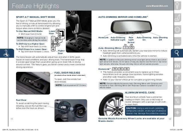 2013 mazda cx 9 smart start guide rh slideshare net CX-9 Signature CX-9 Signature