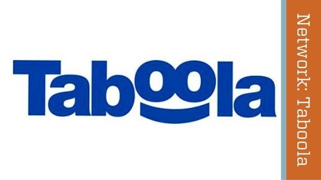 Network: Taboola  @wilreynolds