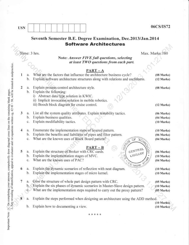 7th Semester Computer Science And Information Science Engg 2013 Dece