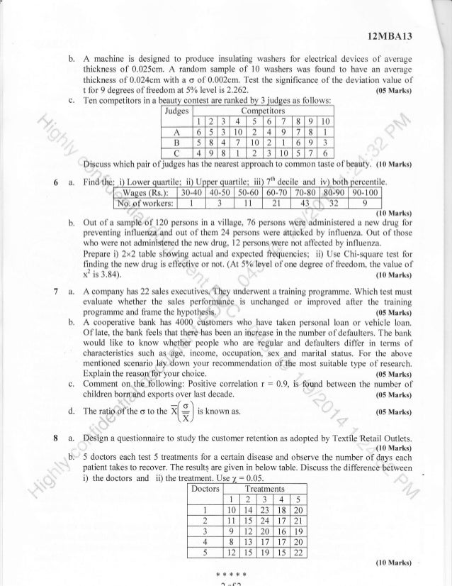 1st semester mba dec 2013 question papers 05 marks 1 of2 10 malvernweather Images