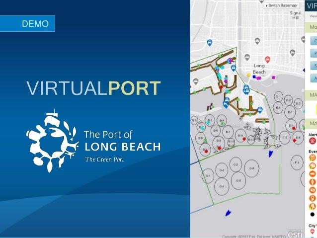 DEMO       #devsummit #esriux #virtualport